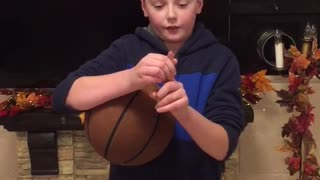 Learn how to spin a basketball
