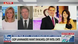 Rand Paul: Eric Swalwell 'Probably Ought to Just Resign from Congress'