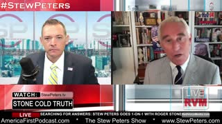Stew Peters Asks Roger Stone About Trump Sabotage From Within - Stone NAMES NAMES!
