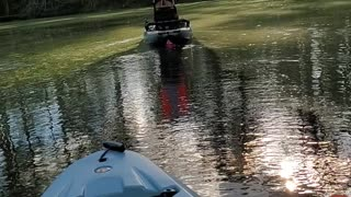 Pretend fishing