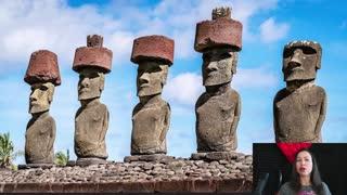 Rano Kau volcano on Easter Island
