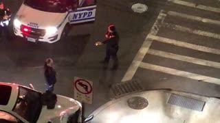 Cops Chase Man After Car Crash