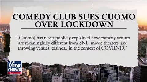 Comedy Club Owner Suing Andrew Cuomo Over COVID Restrictions