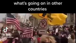 GLOBAL ANTI-LOCKDOWN PROTEST !! 🍿🍿
