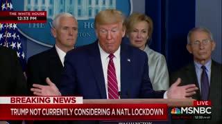 Trump Goes Off On NBC's Peter Alexander for 'Sensationalim'