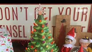 Who remembers ceramic Christmas trees?