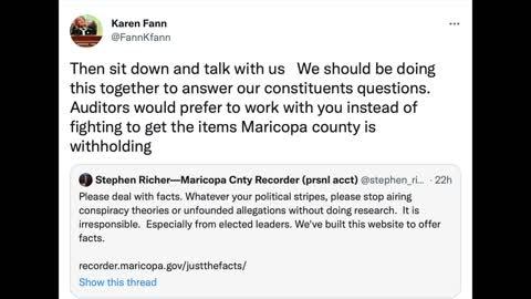 Az. State Senator Karen Fann Gives Audit Update