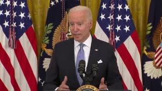 Biden Says It's Still A Question as to Whether the Federal Government Can Mandate Vaccines