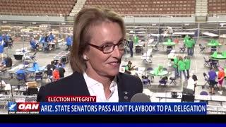 Ariz. state senators pass audit playbook to Pa. delegation