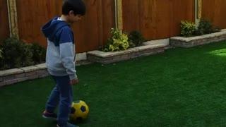 My son's footballing skills