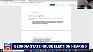 Proof of Georgia Voting manipulation