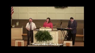 Special Song - I Bowed On My Knees And Cried Holy, by Dennis Campbell and Family, 2008
