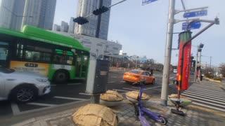 Seoul South korea Street Morning