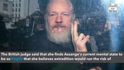 WikiLeaks founder Julian Assange cannot be extradited to the United States, rules UK court