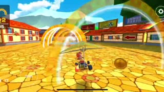 Mario Kart Tour - Baby Mario Cup Ring Race Challenge Cleared (Winter Tour)