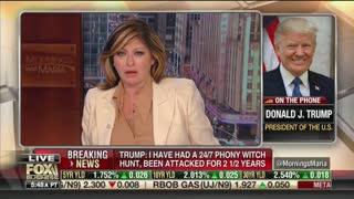 Donald Trump goes on a tear against Robert Mueller