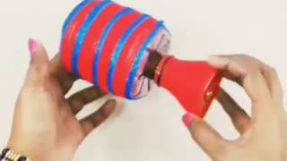 DIY Empty Plastic Bottle Craft Hack