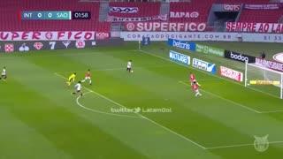 Gol de Emiliano Rigoni de Sao Paulo