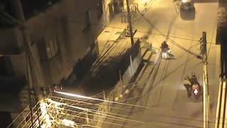 Video: Hombre intentó atacar a bala a su excompañera sentimental en Piedecuesta