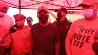 EFF leader Julius Malema on his presence in Phoenix, KwaZulu-Natal