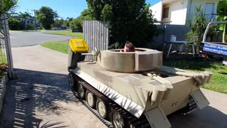Taking out the Trash in a Tank