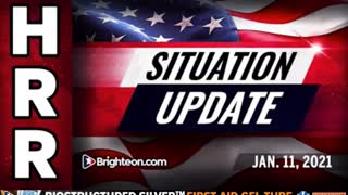 Situation Update, Jan 11th, 2021 – The final looting of the American empire is now under way