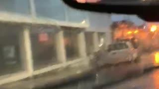 Fuertes lluvias en el área metropolitana de Bucaramanga