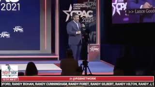 Ted Cruz Jokes About His Cancun Trip During CPAC Speech