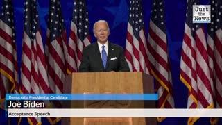 Joe Biden Accepts Presidential Nomination