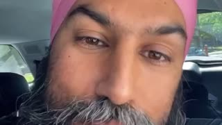 Jagmeet Singh visits Montreal for Saint-Jean-Baptiste day