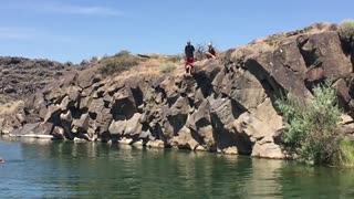 More Cliff Jumping