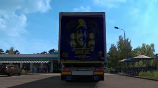 Road safety world series srilankan legends truck skin