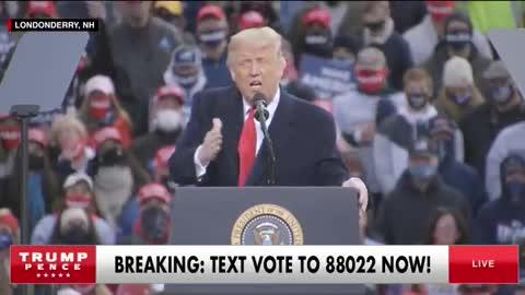 Trump Rally short clip 15