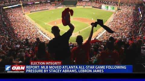 Report: MLB moved Atlanta All-Star Game following pressure by Stacey Abrams, Lebron James