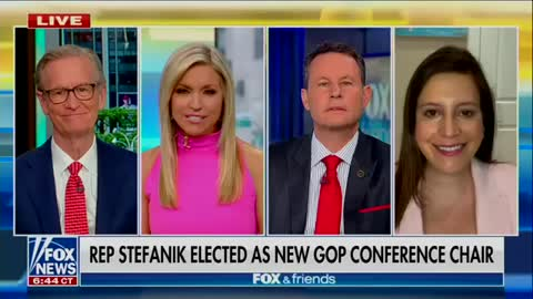 Elise Stefanik joins Fox & Friends to talk about our united House GOP and CORRUPT CUOMO. 05.17.21