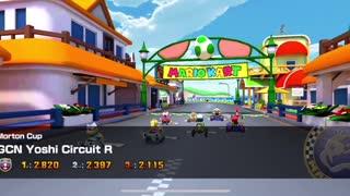 Mario Kart Tour - Egg 1 Kart Gameplay (Winter Tour Token Shop Reward)