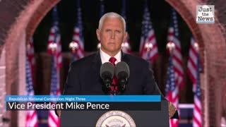 Pence: 'Hard truth is you won't be safe in Joe Biden's America'
