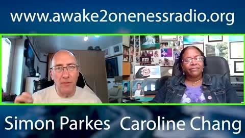 Simon Parkes and Caroline Chang 27th June 2021