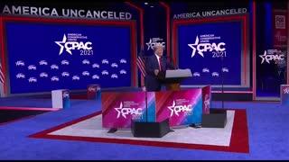 President Donald Trump Speaks at CPAC 2021 in Orlando