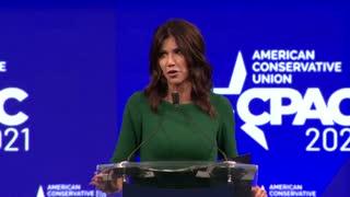 CPAC 2021: SD Gov. Kristi Noem Full Speech in Dallas, Texas 7/11/21