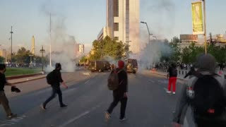 Estado de emergencia en Chile por jornada de protestas