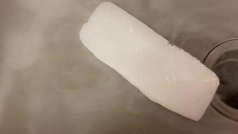 Dry ice video
