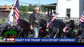 Draft for Trump 2024 effort underway
