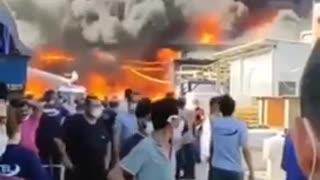 Turkey's wildfire