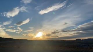 Time Lapse Sunset 2/23/2021