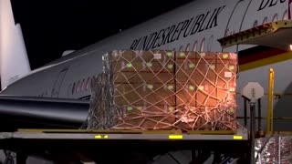 COVID-19 relief supplies arrive in India