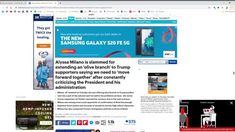 Alyssa Milano wants to Heal the Nation