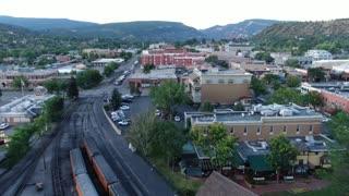 Durango Co and Train Station