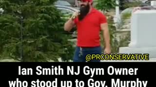 NJ Gym Owner who defied Gov Murphy gives powerful speech