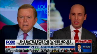 Lou Dobbs Snaps at Stephen Miller: 'Why Don't You Answer Me?!'